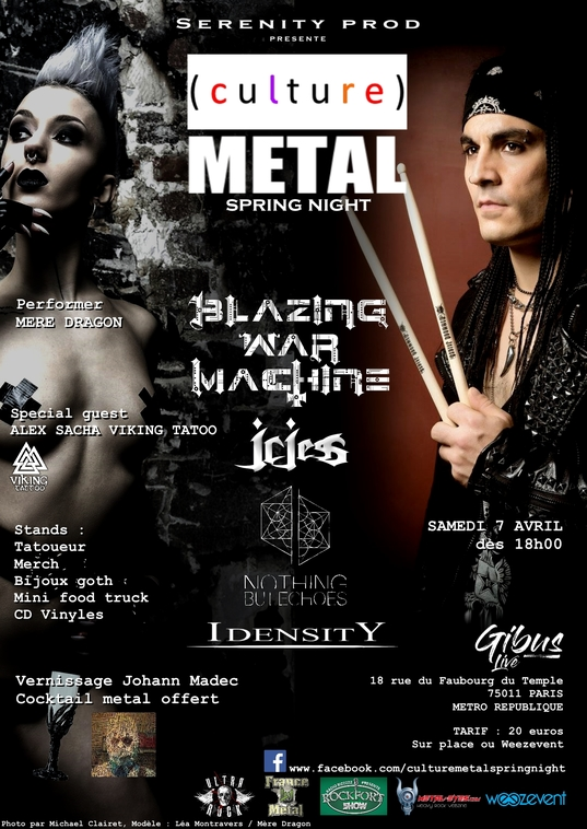 07.04.2018 – Culture METAL spring night