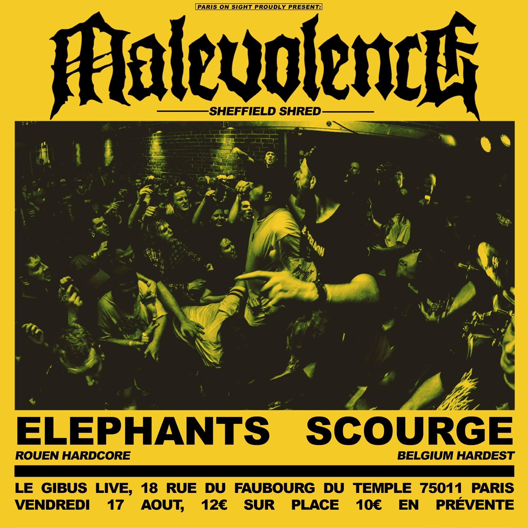 17.08.2018 – Malevolence + Elephants + Scourge