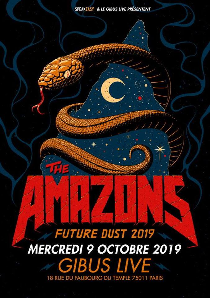 09/10/2019 – The Amazons + Deputies