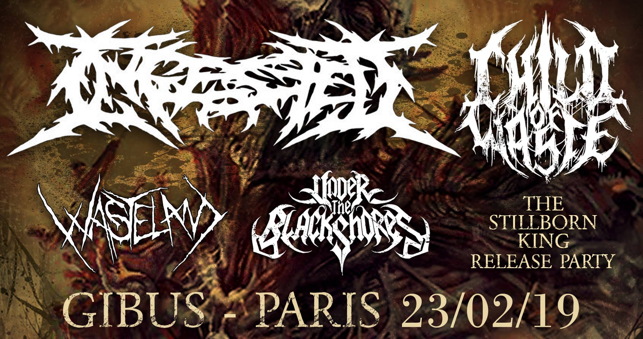 23.02.2019 – Ingested + Child of Waste + Wasteland + UTBS