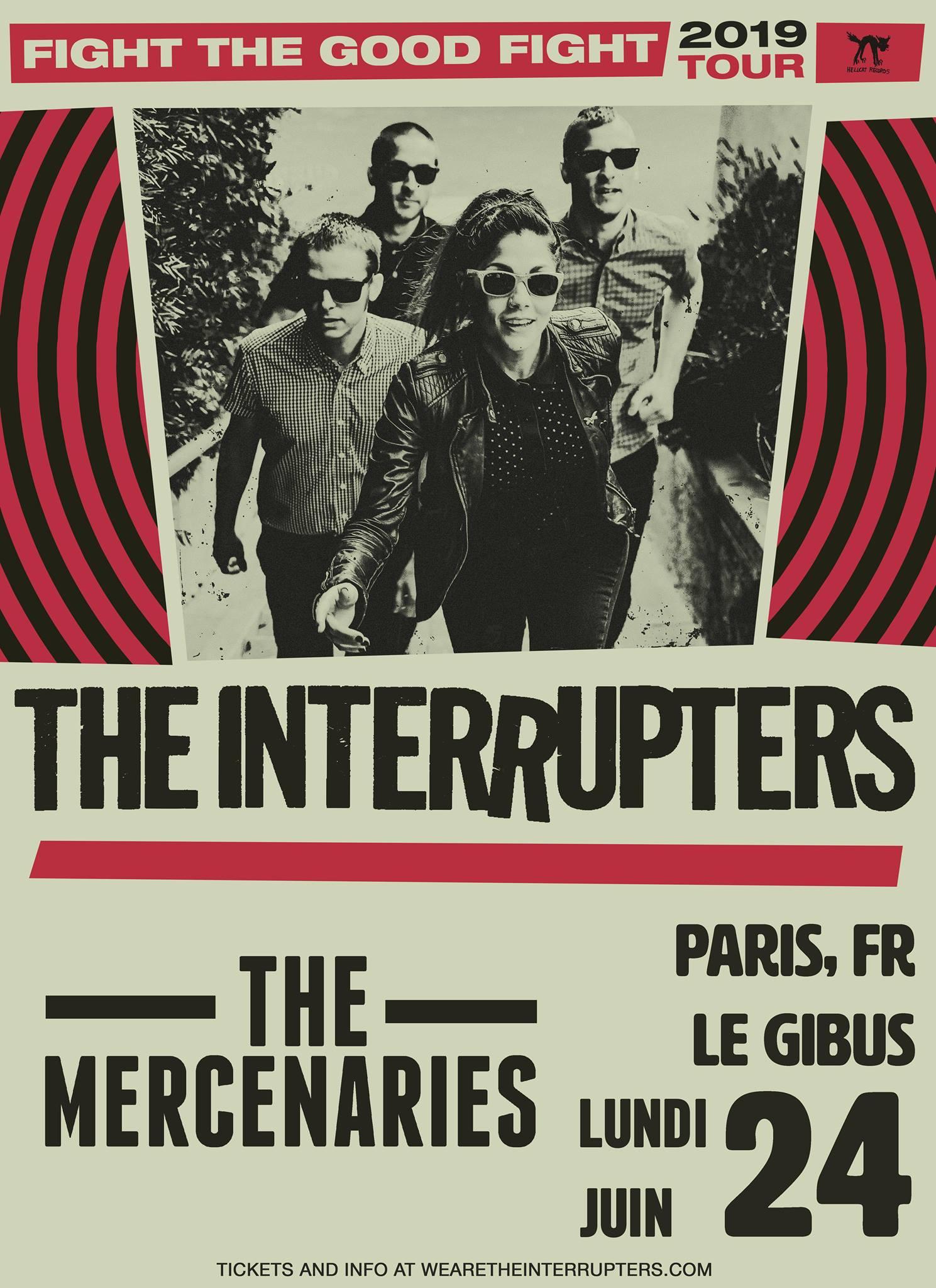 24.06.2019 – The Interrupters + The Mercenaries