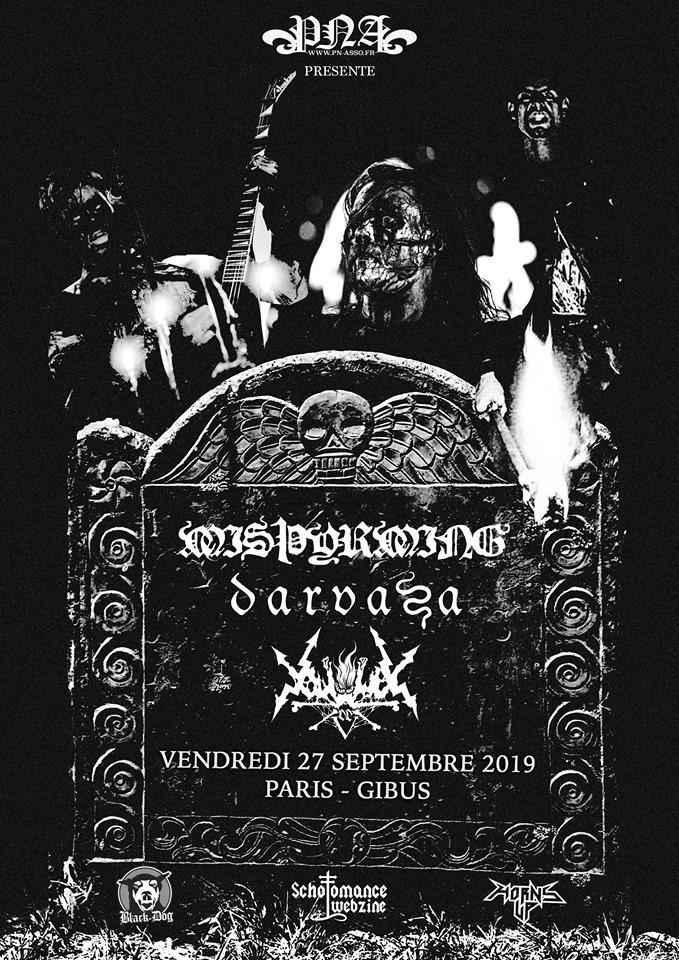 27.09.2019 – Misþyrming x Darvaza x Vortex of End