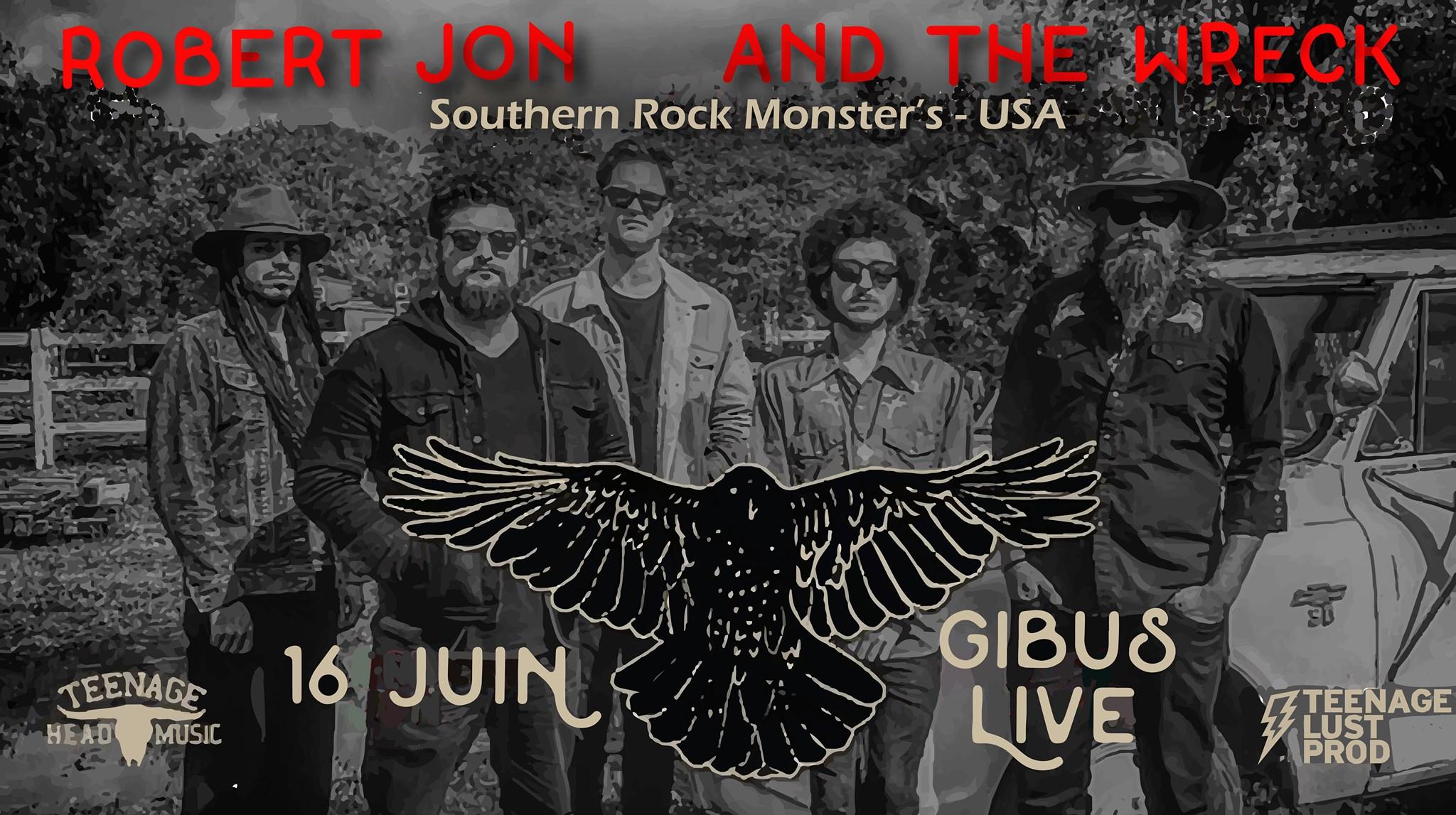 03.06.2019 – Robert Jon & The Wreck (southern rock, US)•Thomas Schoeffler Jr.
