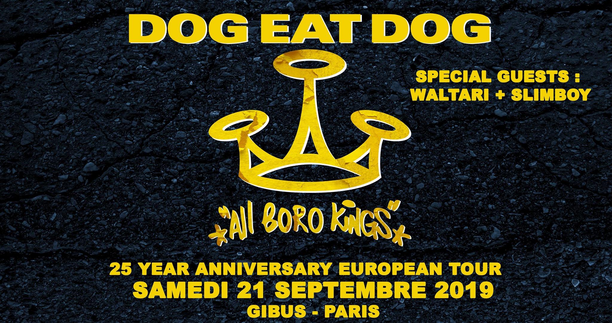21.09.2019 –  DOG EAT DOG + Waltari + Slimboy