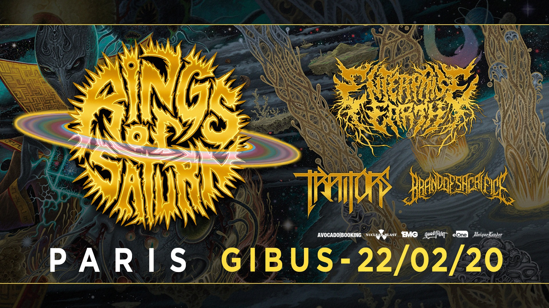 22.02.2020 –  Rings of Saturn, Enterprise Earth, Traitors, BxOxS