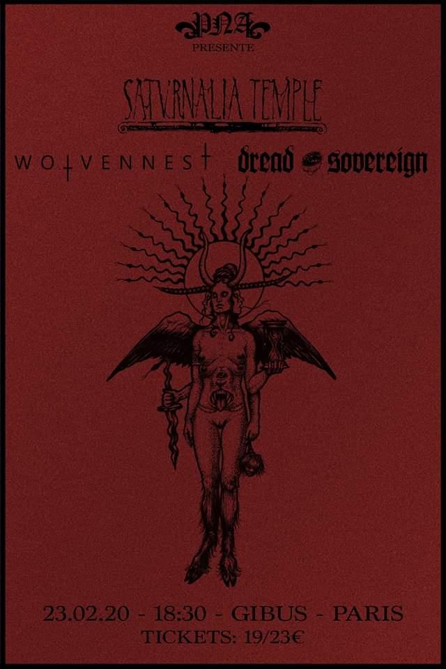 23.02.2020 – Saturnalia Temple x Wolvennest x Dread Sovereign