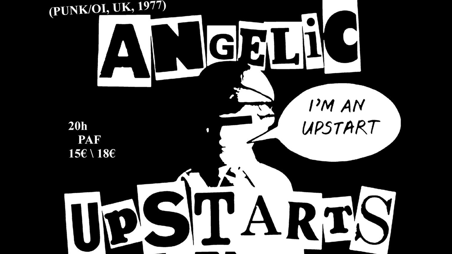 04.02.2019 – Angelic Upstarts + Wunderbach + Plomb